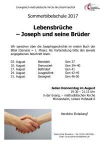 Sommerbibelschule @ EmK Münzesheim
