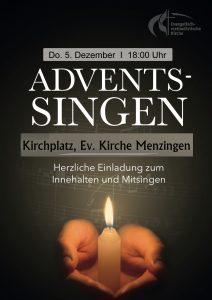 Menzingen Adventssingen @ vor der Ev. Kirche Menzingen