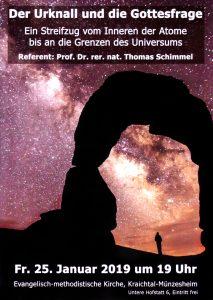 Dr. Schimmel: Der Urknall und die Gottesfrage @ EmK Münzesheim
