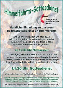 "Menzingen Waldgottesdienst @ Grillplatz ""Vogelherdle"""