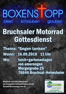 MOtorradGOttesdienst: Segen tanken @ Bruchsal-Helmsheim