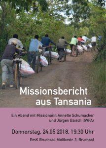Bericht aus der Mission @ EmK Bruchsal